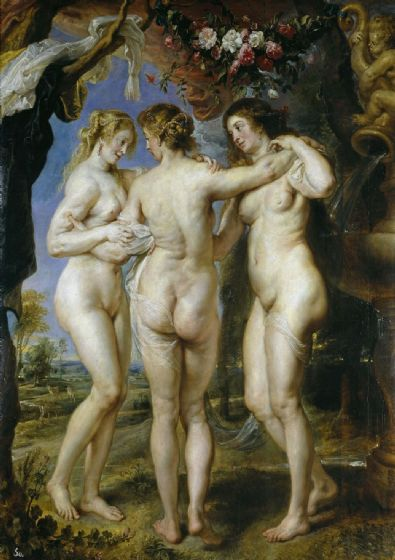 Rubens, Peter Paul: The Three Graces. Fine Art Print/Poster. Sizes: A1/A2/A3/A4 (00550)
